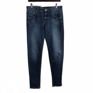 Express Women's Mid-Rise Blue Jeans 10R